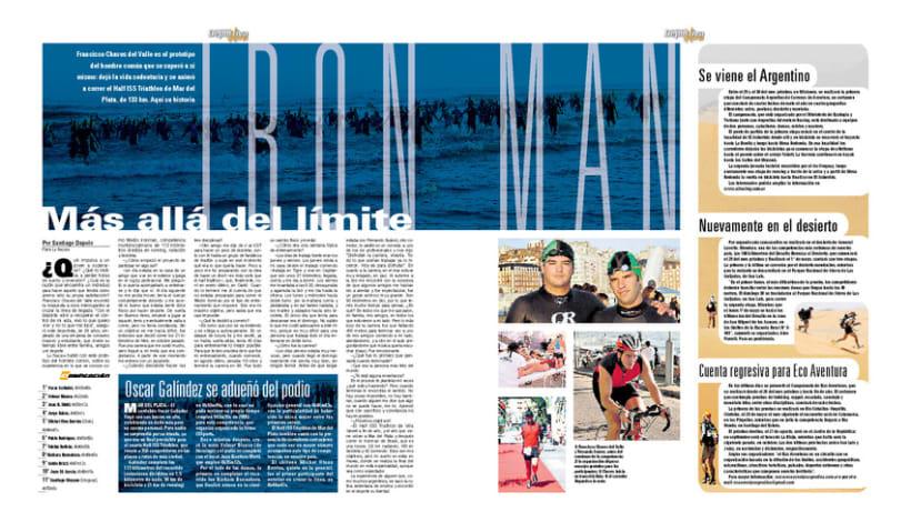 Deportiva Xtrema, Diario La Nación 3