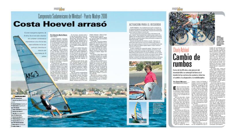 Deportiva Xtrema, Diario La Nación 4