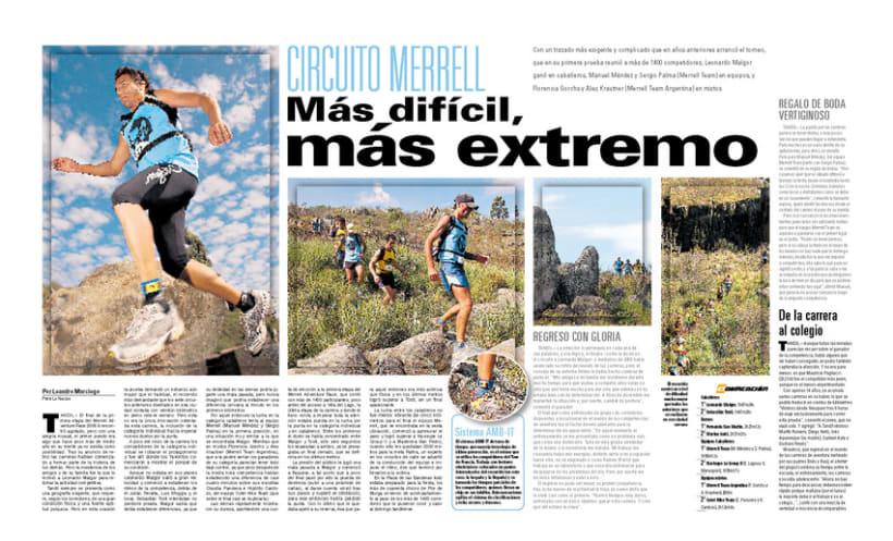 Deportiva Xtrema, Diario La Nación 6