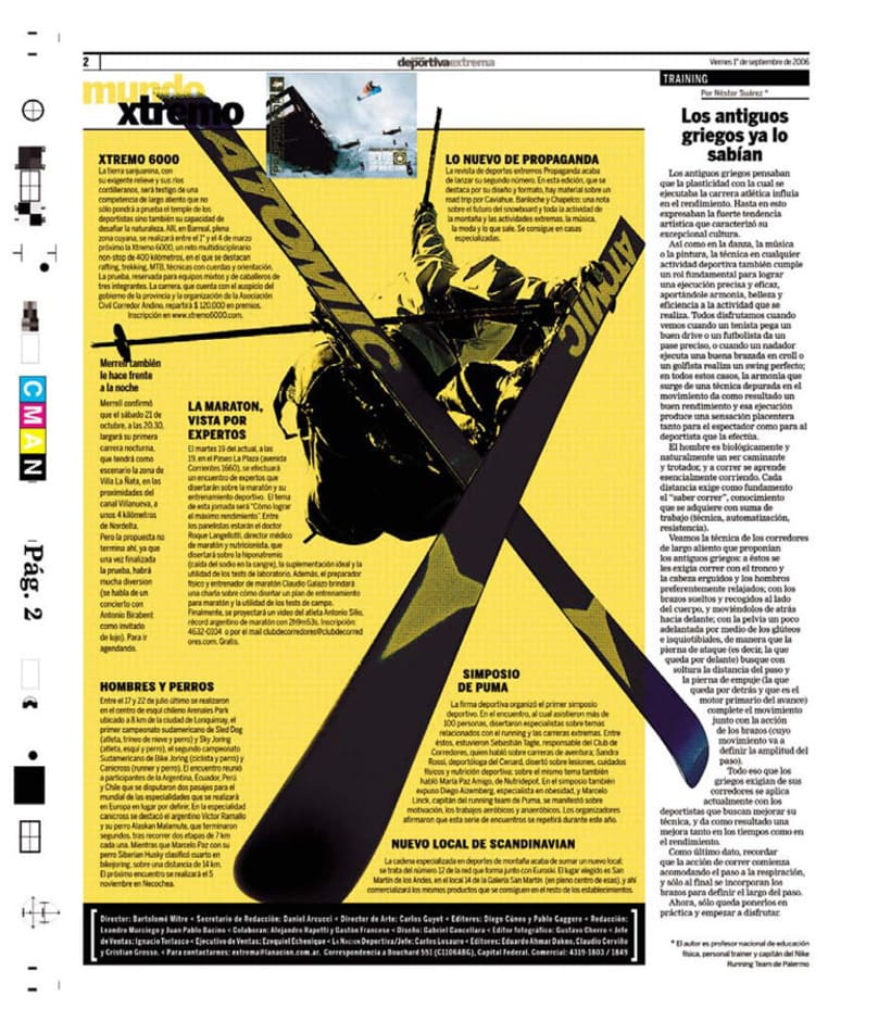 Deportiva Xtrema, Diario La Nación 8