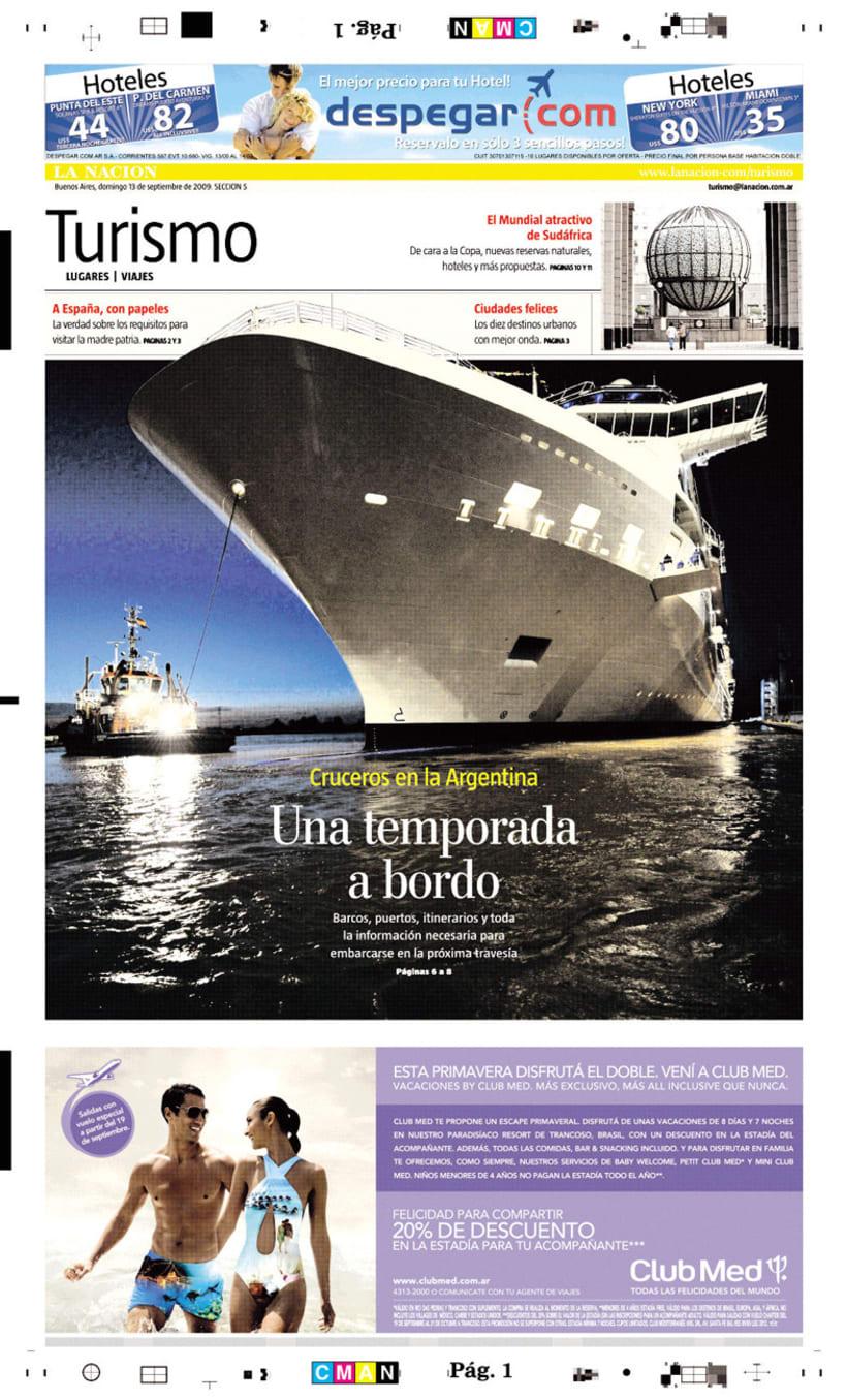 Diario La Nación, Suplemento de Turismo 2