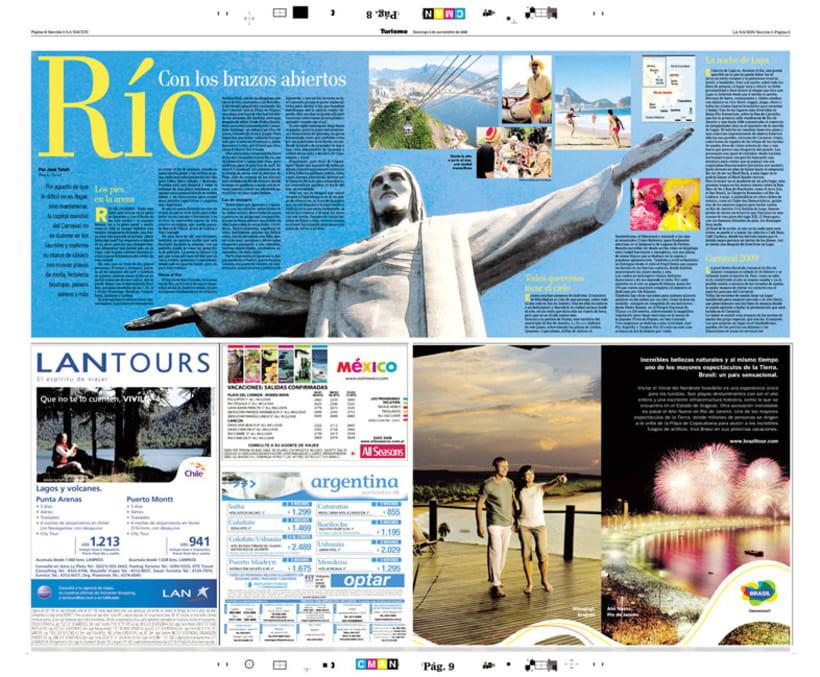 Diario La Nación, Suplemento de Turismo 4