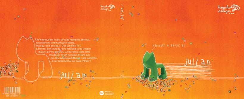 Colección ludica de libros para niños Kezako design ? 4