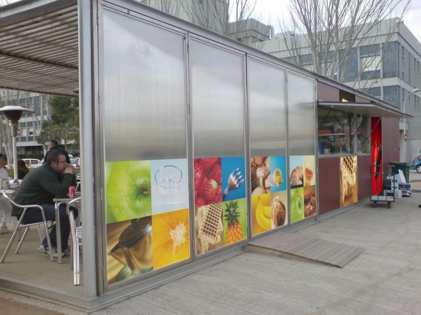Cafeteria exterior Arcasa 2