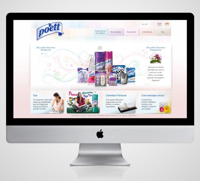 Diseño Web para theLINE 4