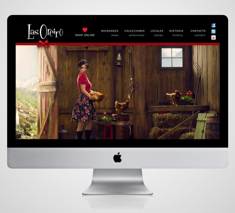 Diseño Web para theLINE 2