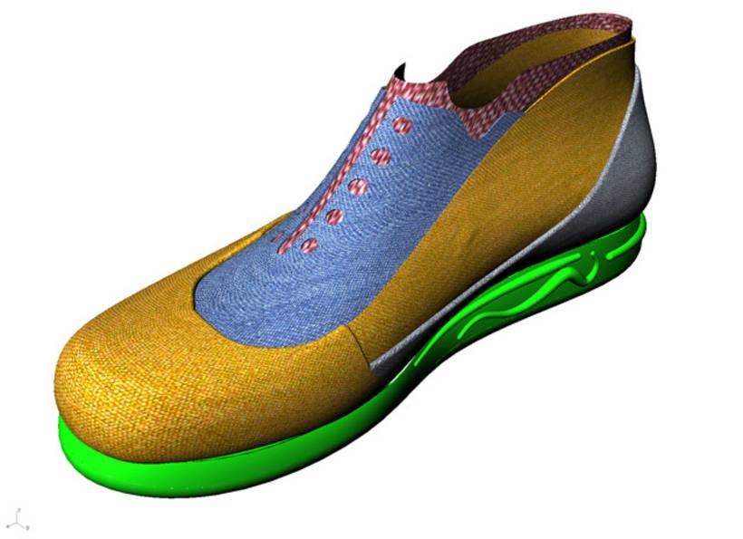 Diseño de zapatilla 2