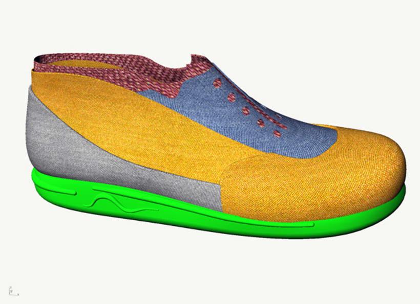 Diseño de zapatilla 3