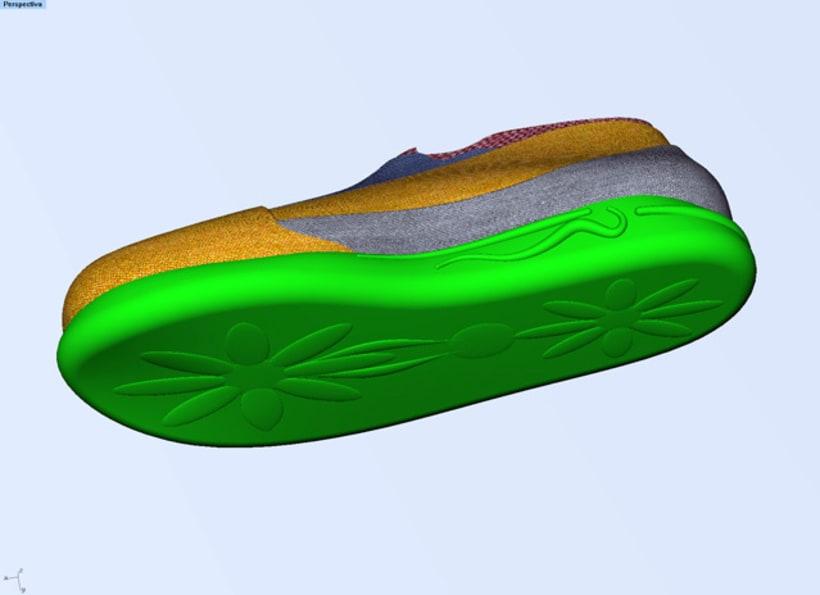 Diseño de zapatilla 4