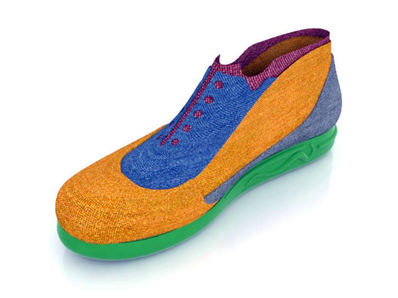 Diseño de zapatilla 8