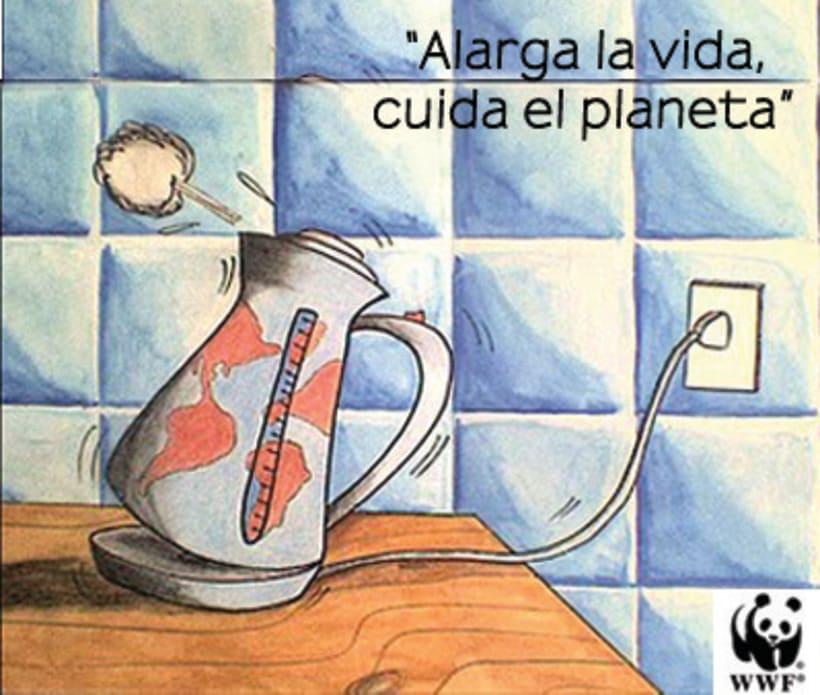 """Campaña """" Apaga la luz por una hora, salva el planeta """"  4"""