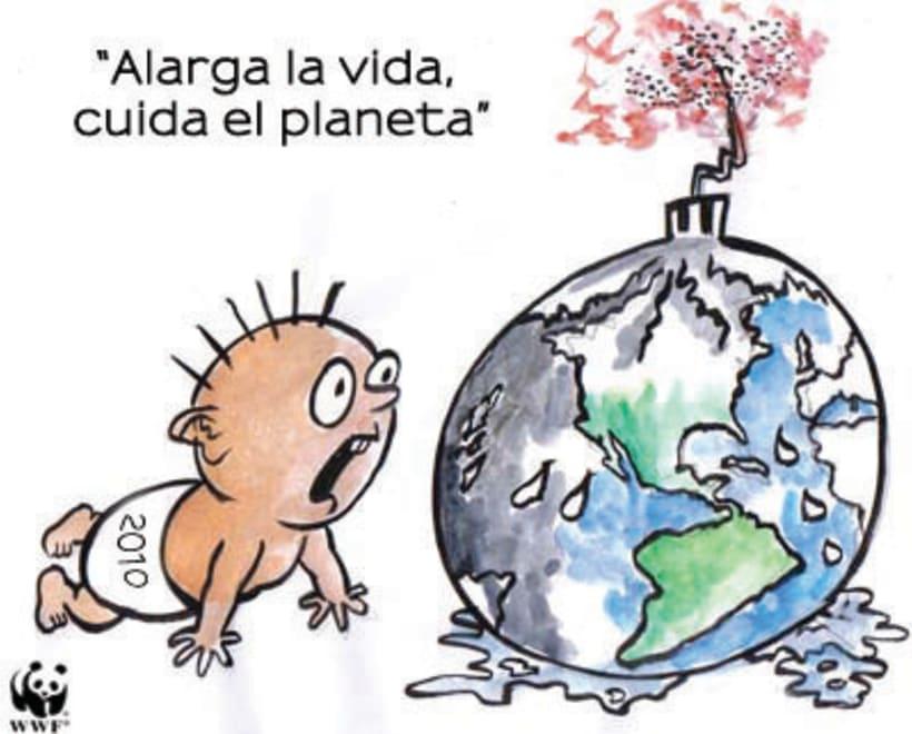 """Campaña """" Apaga la luz por una hora, salva el planeta """"  3"""
