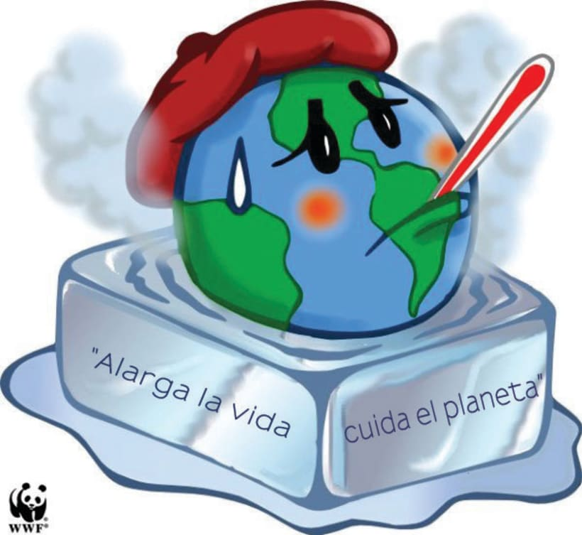 """Campaña """" Apaga la luz por una hora, salva el planeta """"  1"""