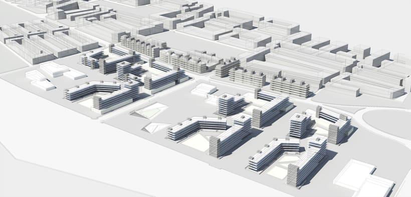 Proyecto Urbano - Prat de Llobregat 1