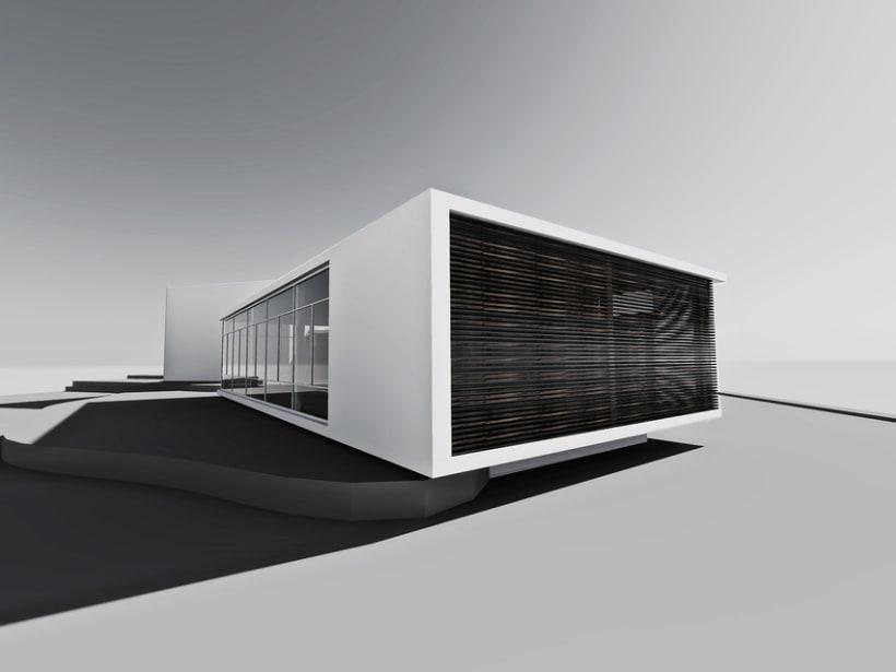 Biblioteca y Sala polivalente en Dosrius 2