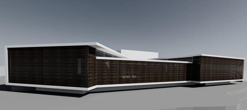 Biblioteca y Sala polivalente en Dosrius 1