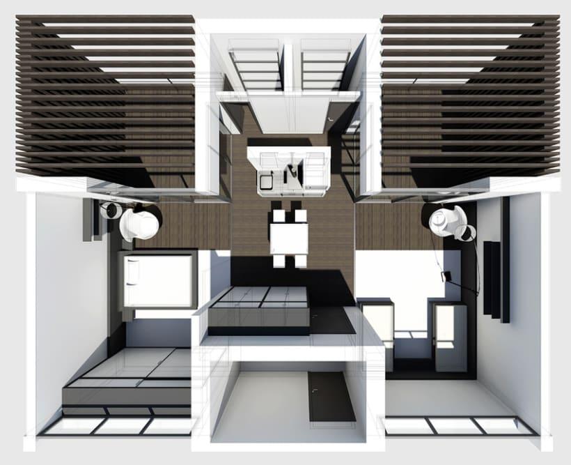 Aparthotel en Amposta 2