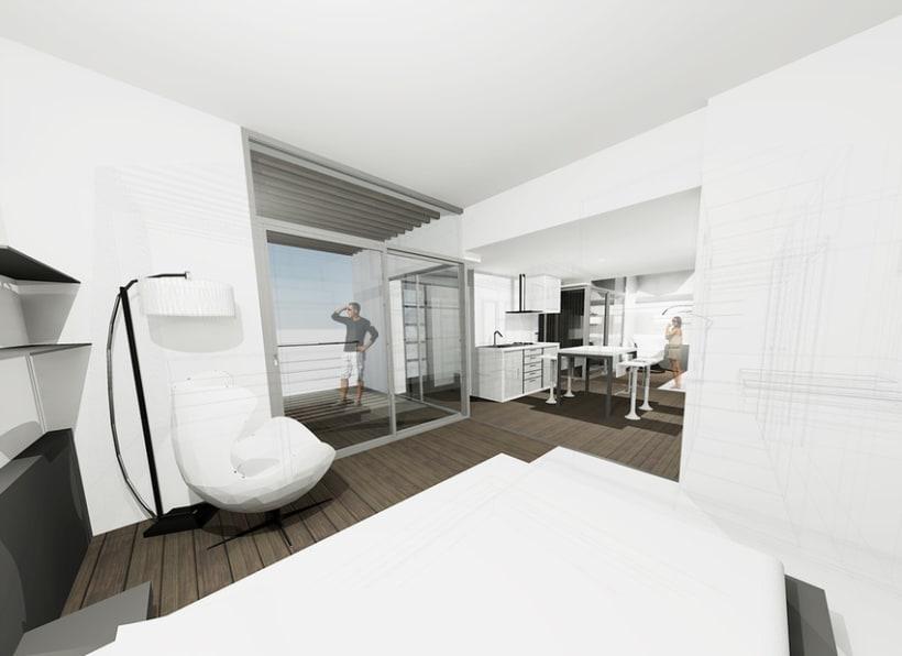 Aparthotel en Amposta 4
