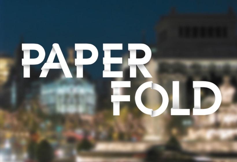 Tipografia-Paper Fold 1