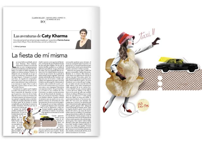 Diario Clarín - Suplemento Mujer 2