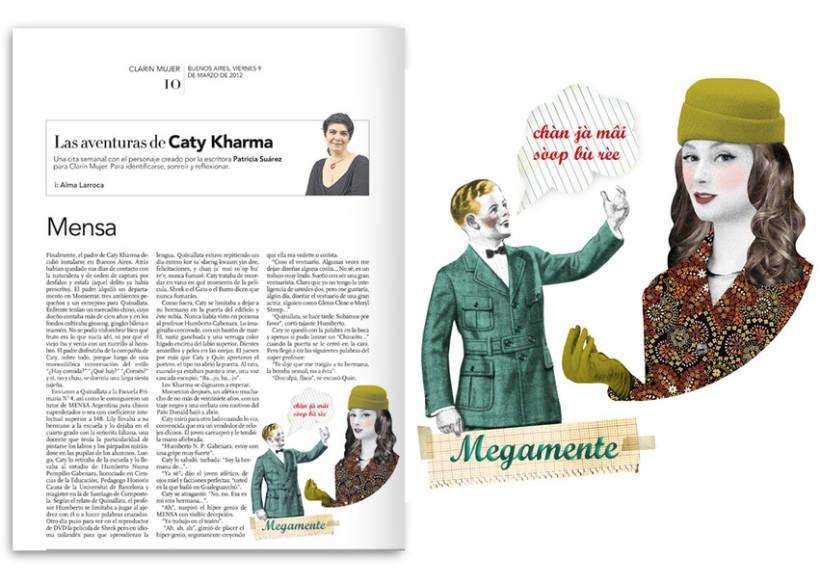 Diario Clarín - Suplemento Mujer 1