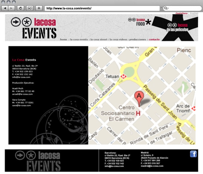 Web La cosa EVENTS 7