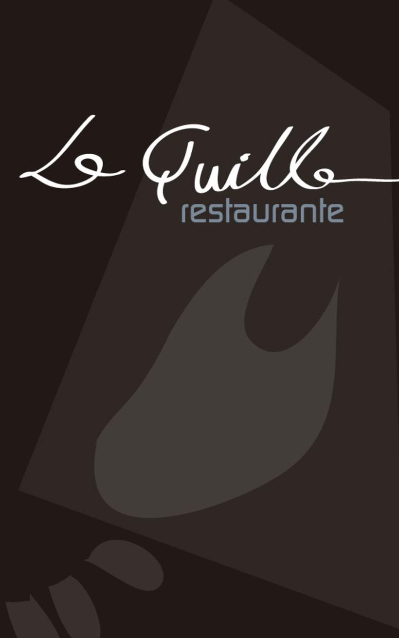 Diseño Carta Restaurante 1