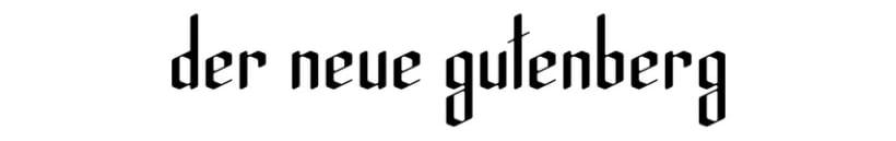 Der Neue Gutenberg 2