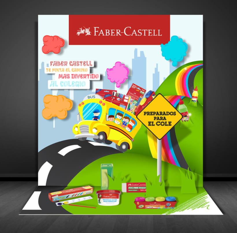 FABER-CASTELL  punto de venta 2