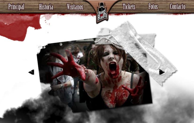 Bleed Inn Room (Hotel del terror) 6