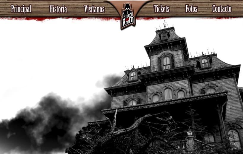 Bleed Inn Room (Hotel del terror) 5