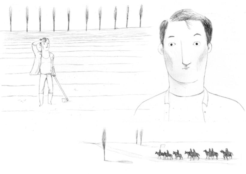 Bocetos para animación 2