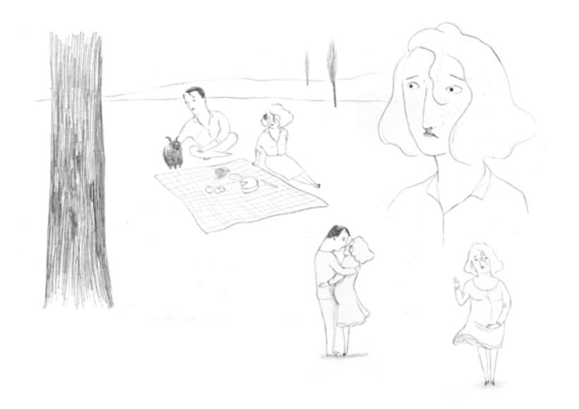 Bocetos para animación 1