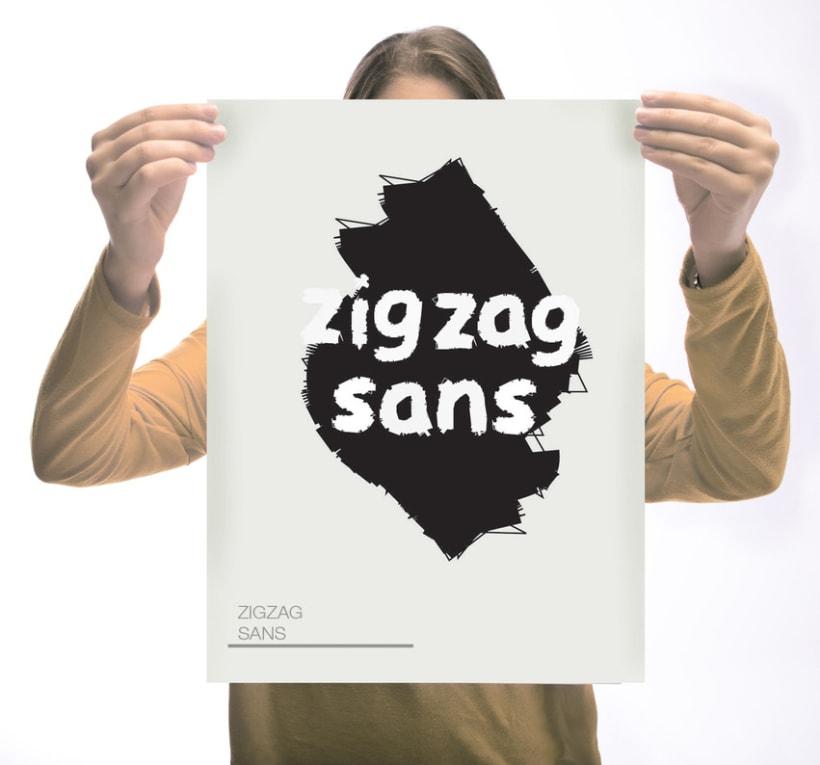 Zigzag Sans Typography 1