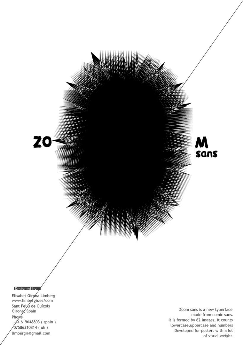 Zoom Sans Typography 1