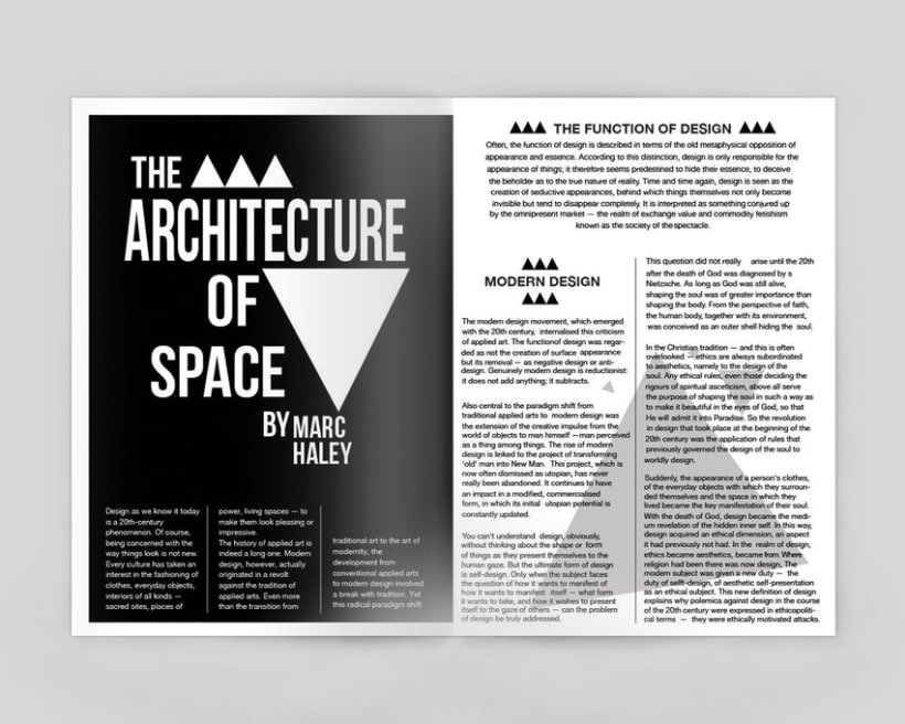 The Architecture of Space 1