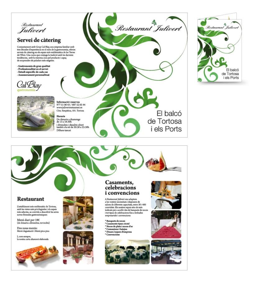 Restaurant Julivert de Tortosa 1