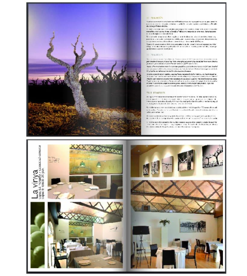 Llibre/carta de vins del Restaurant Vinticinc de Sant Sadurní d'Anoia 1