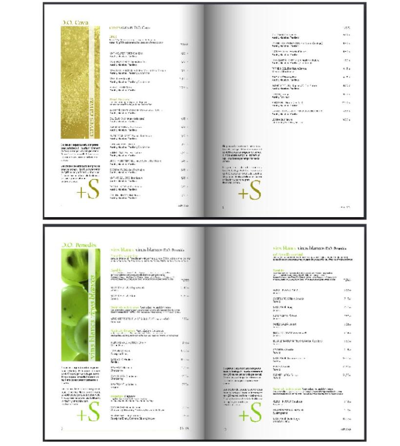 Llibre/carta de vins del Restaurant Vinticinc de Sant Sadurní d'Anoia 2