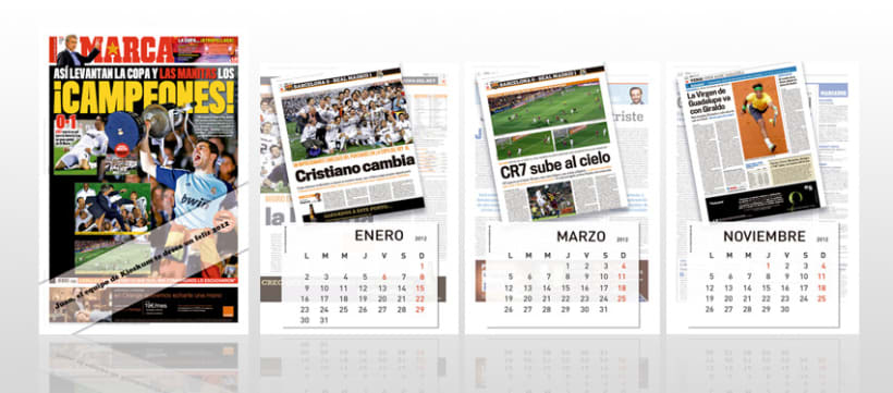 KIOSKUM - MARCA Calendario Pared 2