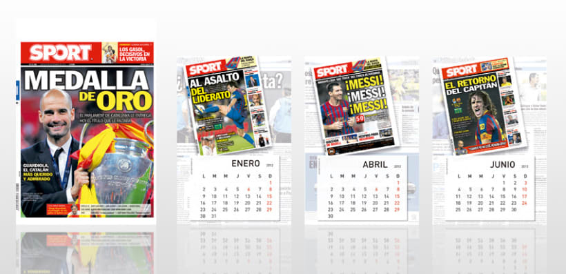 KIOSKUM - SPORT Calendario Pared 3