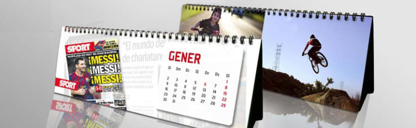 KIOSKUM - SPORT Calendario Sobremesa 2