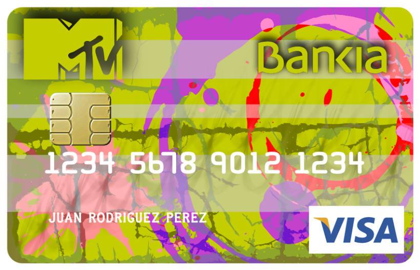 Tarjeta MTV-BANKIA 2