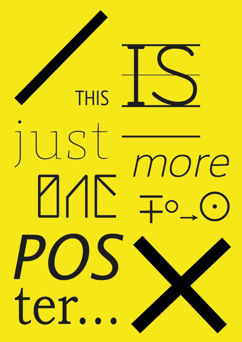 Poster tipografia 2