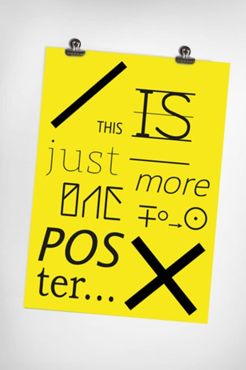 Poster tipografia 1
