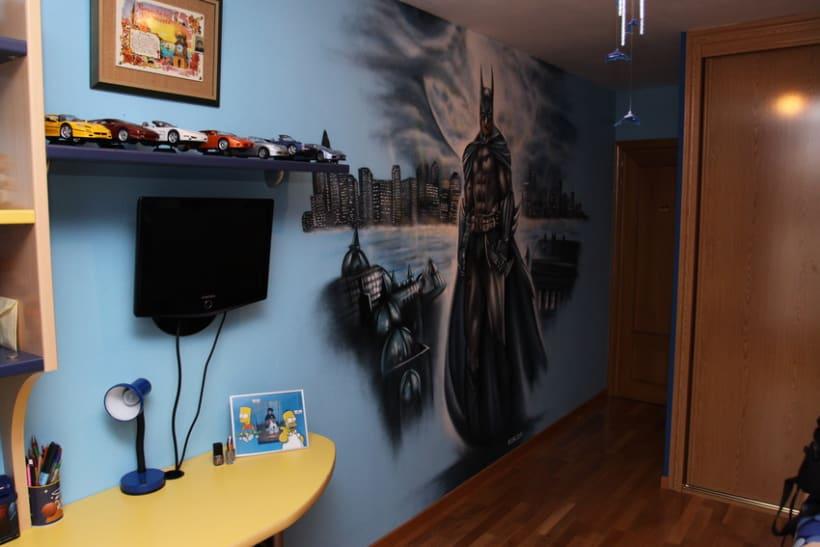 Mural Batman 3