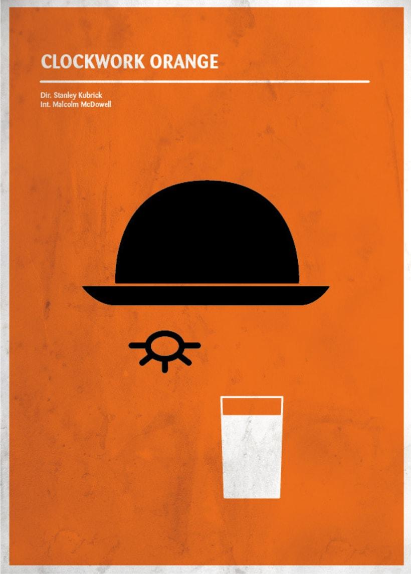 Carteles de cine minimalistas 1