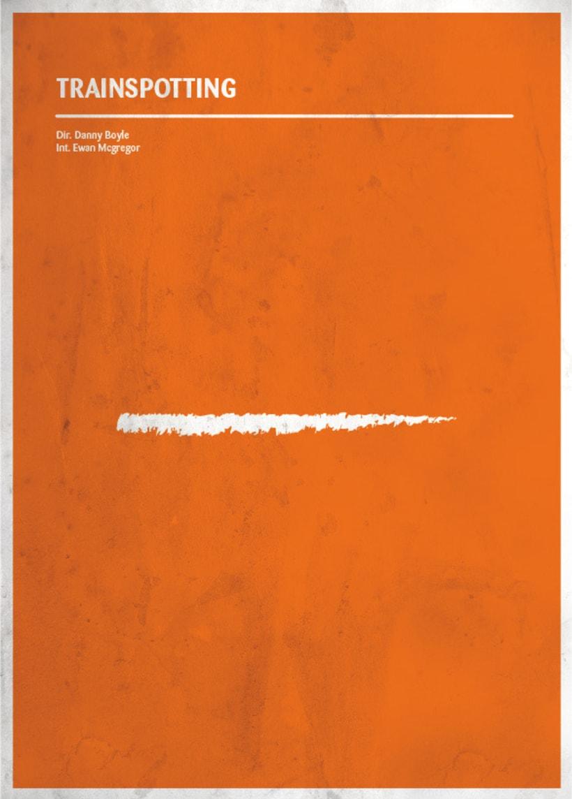 Carteles de cine minimalistas 4