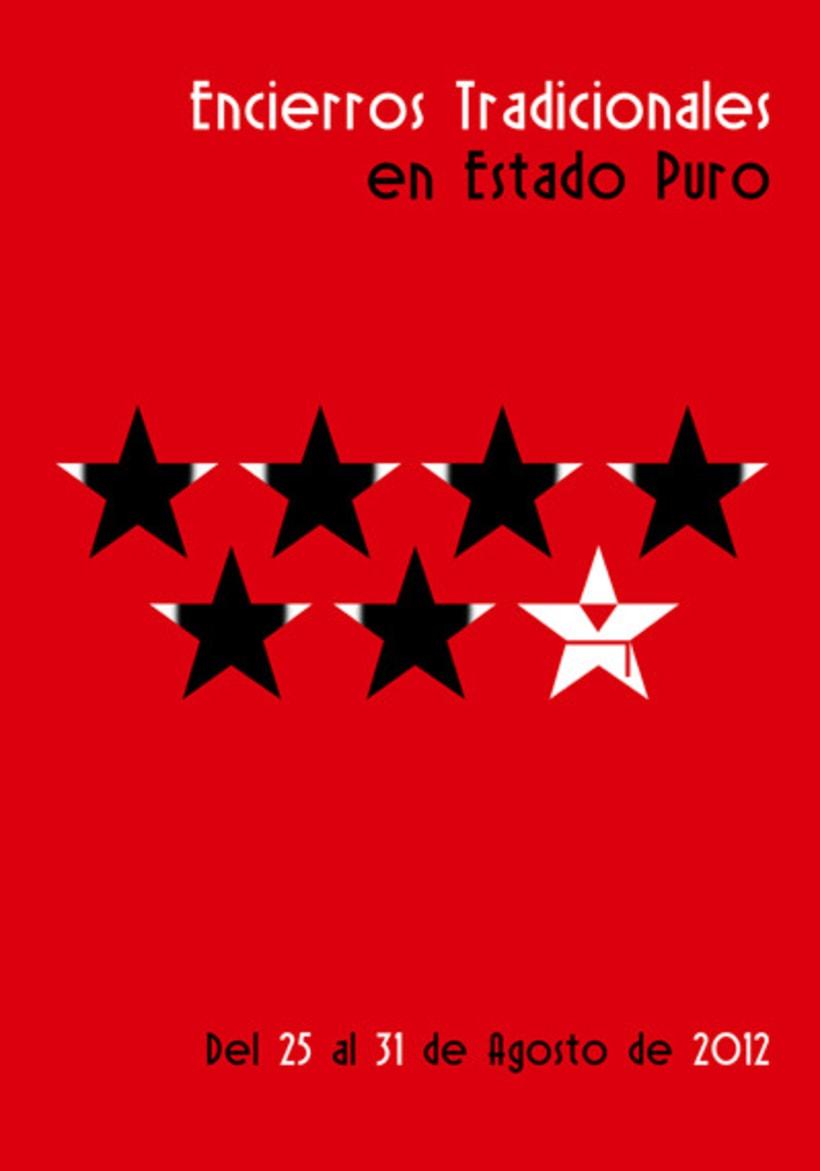 Propuesta cartel Encierros de San Sebastián de los Reyes 2