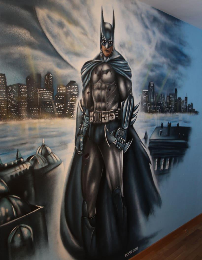 Mural Batman 2